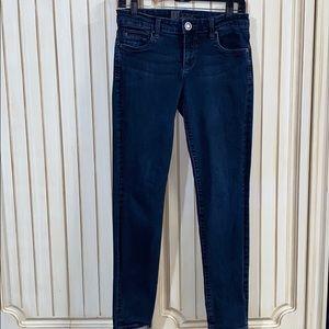 Kut from the Kloth Skinny Dark Wash Denim Jeans